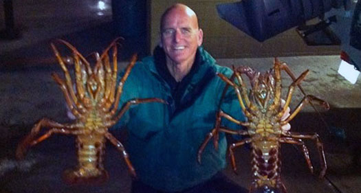 Lobster fishing captain clowers for Lobster fishing san diego